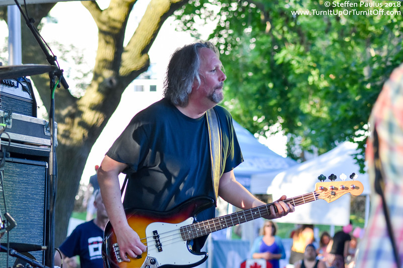 The Pursuit Of Happiness @ The Danny Loves Music Series, East Lynn Park, Toronto, ON, 4-July 2018