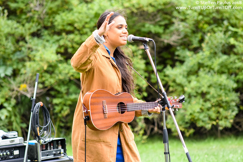 Lydia Persaud @ 9th Annual Toronto Bicycle Music Festival, Humber Bay Park West, Toronto, ON, 9-September 2018