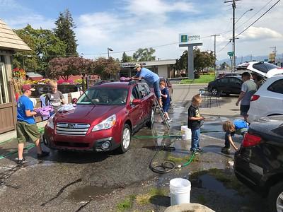 20180915 - Eagle Project Car Wash
