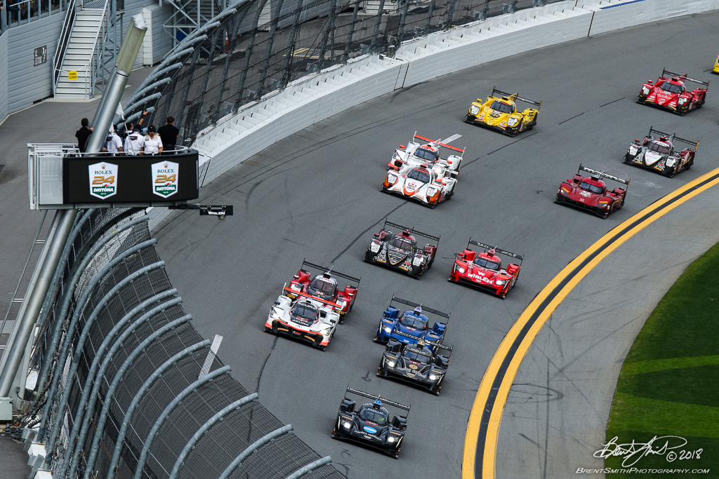 Rolex 24 at Daytona - IMSA WeatherTech SportsCar Championship - Daytona International Speedway - Start