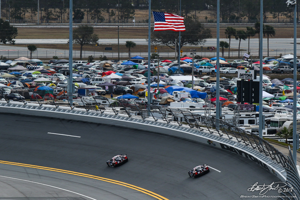 Rolex 24 at Daytona - IMSA WeatherTech SportsCar Championship - Daytona International Speedway - 66 Ford Chip Ganassi Racing, Ford GT, Dirk Mueller, Joey Hand, Sebastien Bourdais; 67 Ford Chip Ganassi Racing, Ford GT, Ryan Briscoe, Richard Westbrook, Scott Dixon