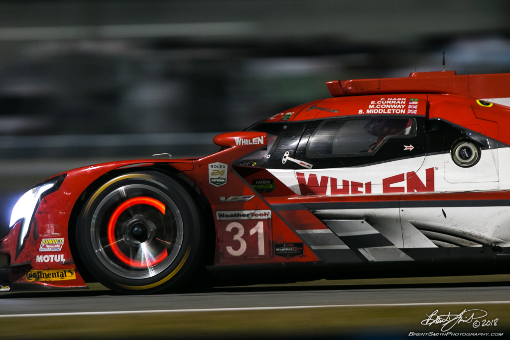 Rolex 24 at Daytona - IMSA WeatherTech SportsCar Championship - Daytona International Speedway - 31 Whelen Engineering Racing, Cadillac DPi, Felipe Nasr, Eric Curran, Mike Conway, Stuart Middleton