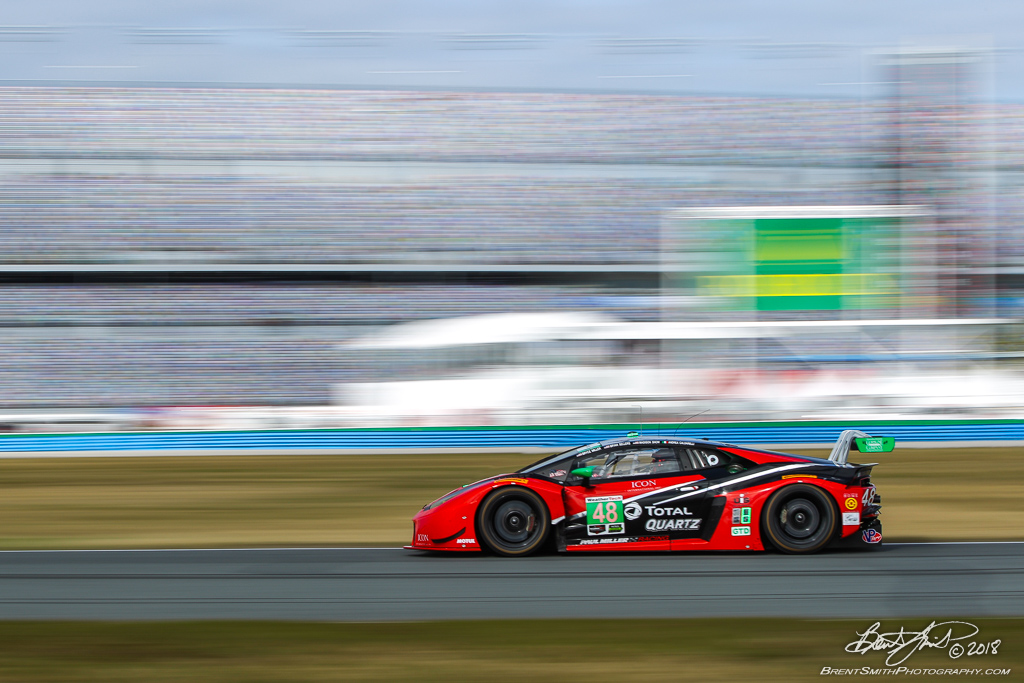 Rolex 24 at Daytona - IMSA WeatherTech SportsCar Championship - Daytona International Speedway - 48 Paul Miller Racing, Lamborghini Huracan GT3, Bryan Sellers, Madison Snow, Andrea Caldarelli, Bryce Miller