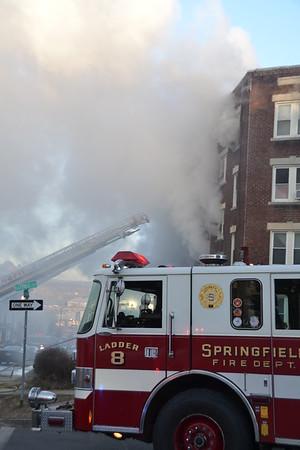 2nd Alarm 49 Belmont Ave, Springfield, MA 3/18/18