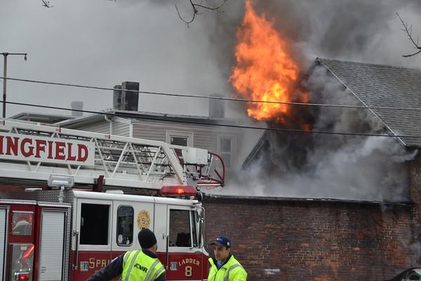 2nd Alarm Loring Street, Springfield, MA 3/4/18