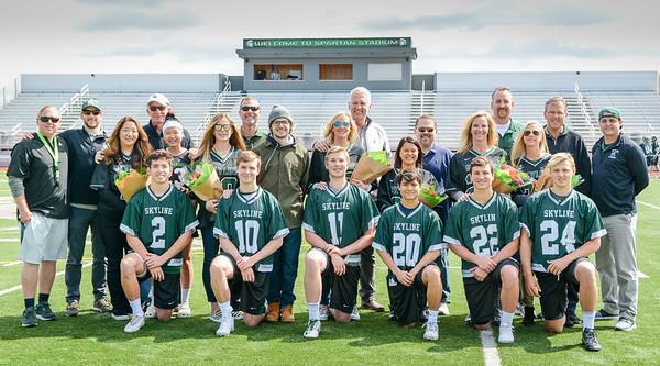 4-21-2018 Senior Day vs Bellingham