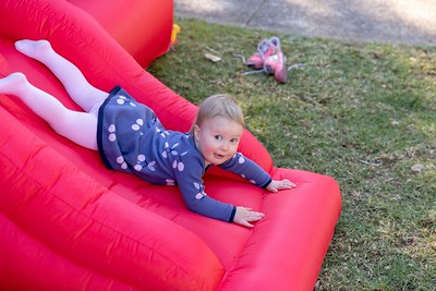 Annabelle Fitzell at the Boy's 4th Birthday Party