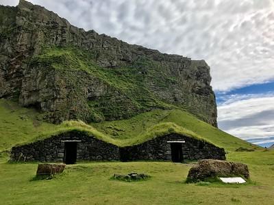 Traditional Icelandic homes in Heimaey - Kim Frawley