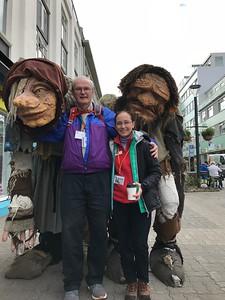 Jake and Mary mingle with the trolls - Kim Frawley