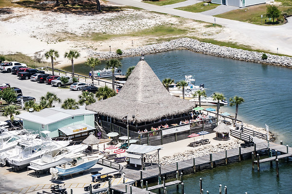 Aerials over the Mullet Toss, Bama Coast Cruise & The Islands