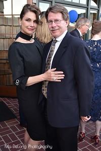 Yvonne Robenson and Richard Evatz