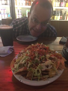 Pulled Pork Nachos at ABV Pub!