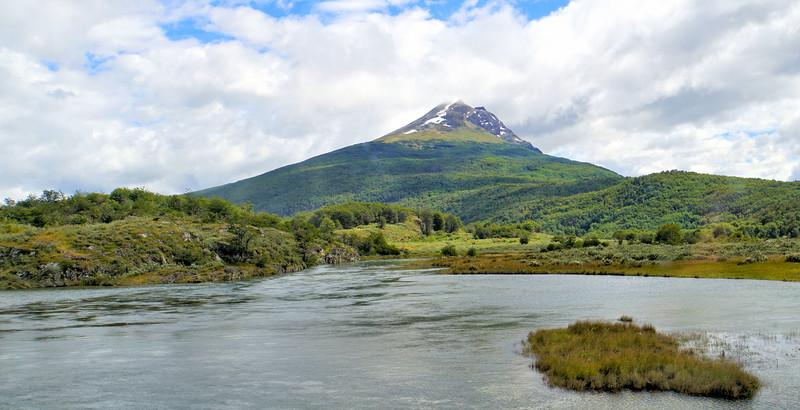 View of  Parque Nacional Tierra del Fuego