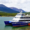 Catamaran for our cruise on the Beagle Channel