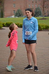 Participants of the Everybody Knows Somebody Race run for Eating Disorder Awareness.