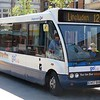 """Stagecoach """"Go Dig"""" branded Optare Solo CN57BXB 47523 in Dumfries on the 12 to Lincluden, 21.04.2018."""