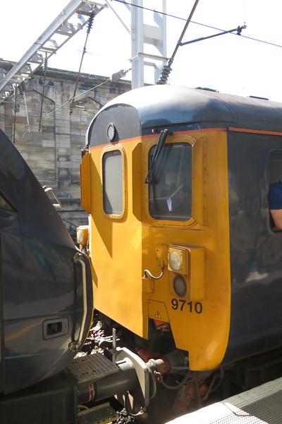 DRS Mark II DBSO no. 9710 at Carlisle on a Northern service to Barrow, 21.04.2018.