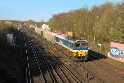 59101 Worting Junction 18/04/18 7O12 Merehead to Woking