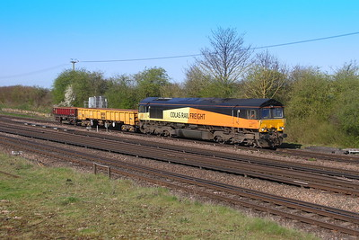 66847 Worting Junction 18/04/18 6Y48 Eastleigh to Hoo Junction