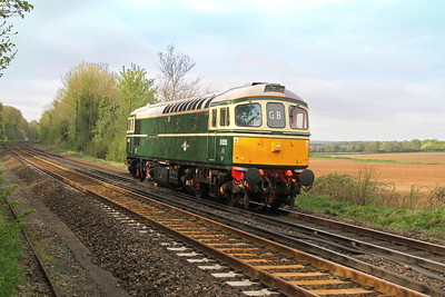33012 Micheldever 23/04/18 0Z35 Eastleigh to West Ruislip