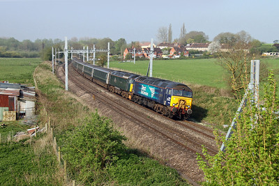 57306 Aldermaston 5A40 Newton Abbot to Reading with 57605