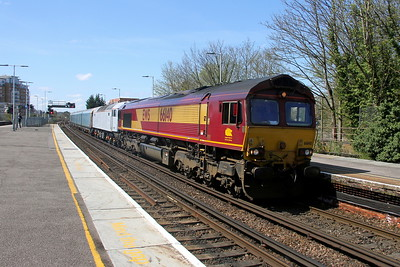 66140 Basingstoke 18/04/18 4Z47 Eastleigh to Crewe with 47810
