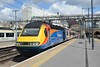 25 April 2018 :: Depart from King's Cross is east Midlands 43075 which has been hire by Virgin Trains east Coast and working 1D11 the 1105 to Leeds