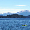 Kayak on Lago Nahuel Huapi