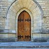 Door in Bariloche Catedral