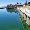 Bariloche waterfront with reflections