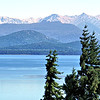 View of Lago Nahuel Huapi from our Bariloche apartment