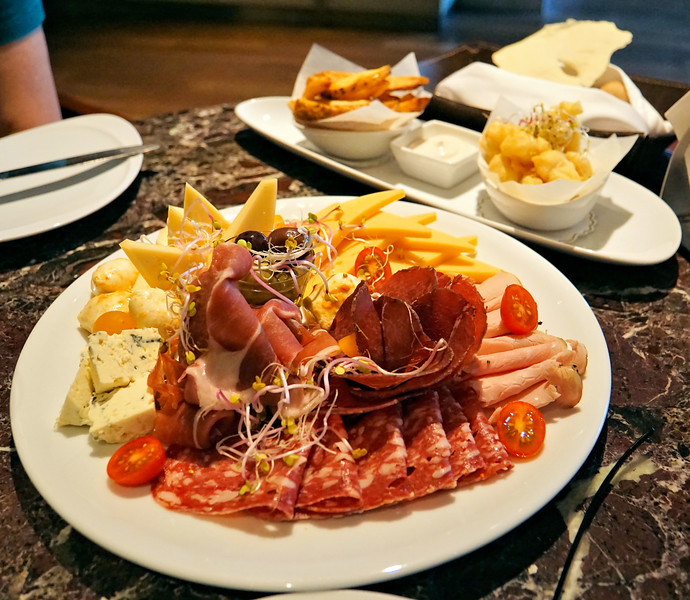 Appetizer at Alvear Hotel