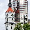 Buildings along Plaza Gran Lavalle