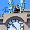 Clock in Buenos Aires