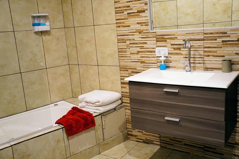 El Calafate apartment bathroom