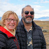 Anne and William on the road to El Chaltén