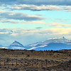 Landscape near El Calafate on the road to El Chaltén