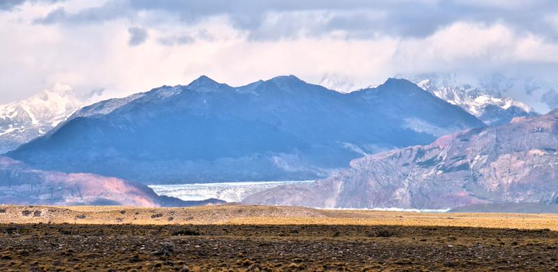Glacier Viedma? near the road to El Chaltén