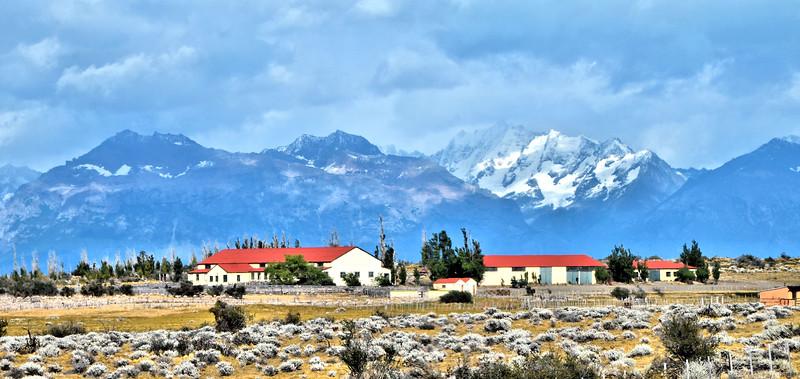 Estancia on the road to El Chaltén