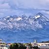 Mountain view from Ushuaia