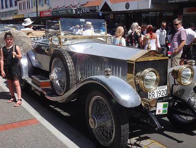 Car silver ghost