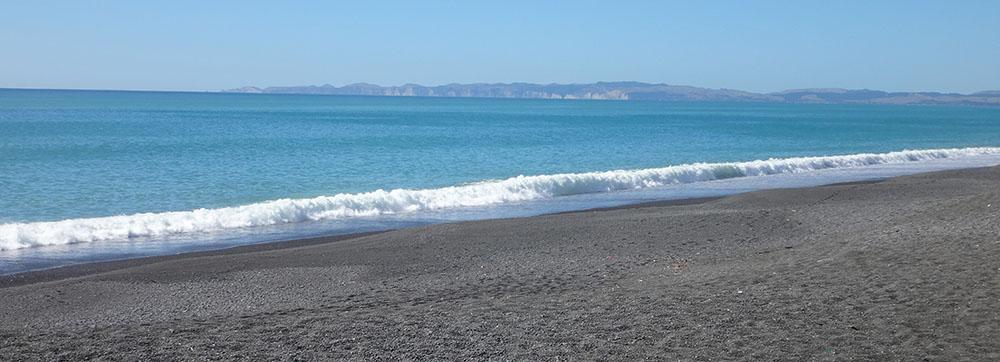 Coast view South - Hawke's Bay