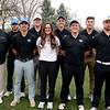 2018 Golf Team: (l-r) Head Coach Matt Fike, Cristian Hall, Trae Martinez, Charles Bowman, Bailee Bastin, Brady Dunagan, Zane Pfau, Graham Marks, Keenan Kelly, William Bowman