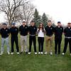 2018 Golf Team: (l-r) Head Coach Matt Fike, Cristian Hall, Trae Martinez, Charles Bowman, Brady Dunagan, Bailee Bastin, Graham Marks, William Bowman, Keenan Kelly, Zane Pfau