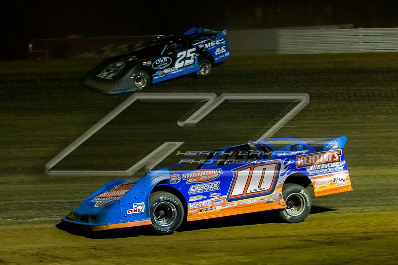 Eddie Carrier, Jr. (10) and Mason Zeigler (25Z)