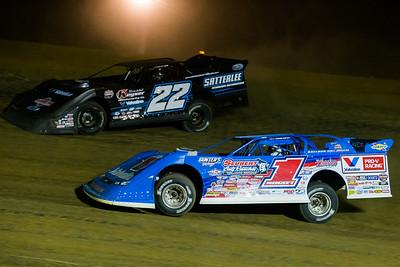 Brandon Sheppard (1) and Gregg Satterlee (22)