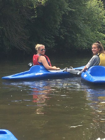 Aug. 18: Kayaking on DuPage River