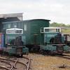 Original Simplex 2' gauge diesel locomotives at Stonehenge Works on the Leighton Buzzard Narrow Gauge Railway, 01.08.2018.