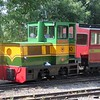 Diesel loco no. 88 Beaudesert at Pages Park depot on the Leighton Buzzard Narrow Gauge Railway, 01.08.18.