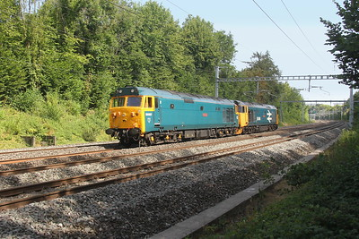 50007 Pangbourne 06/08/18 0Z50 Eastleigh to Kidderminster with 50049